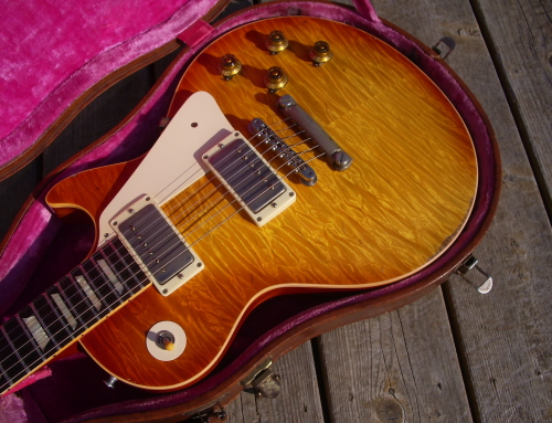 Paul Stanley Custom Shop LP Burst